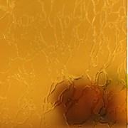 Стекло узорчатое желтое фото