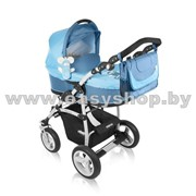 Коляска детская модульная 2/3 в 1 Baby Design Dreamer синий фото