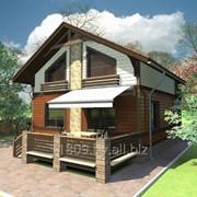 Проект каркасного дома КК-105, 9х7 м фото