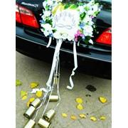 Прокат украшений на свадебный кортеж фото