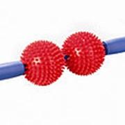 Мячи с шипами на ручке (игольчатый массажер) фото