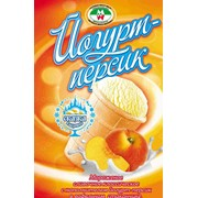 Мороженое сливочное классическое Йогурт-персик фото