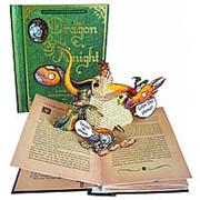 Роберт Сабуда «Дракон и рыцарь» книга-панорама на английском фото