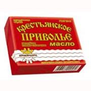 Сливочное масло традиционное сладко-сливочное несоленое «Крестьянское приволье» 82,5% фото