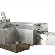 Автоматическая машина для упаковывания в картонную тару фото