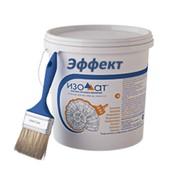 Теплоизоляционная краска белого цвета Изоллат Эффект фото