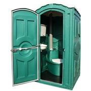Установка мобильных туалетных кабин фото
