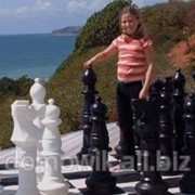 Напольные шахматы уличные КШ-36 фото