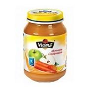 `Пюре - морковь (125 г)` Hamé (Чехия) фото