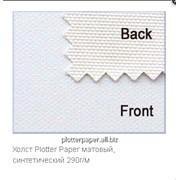 Холст Plotter Paper матовый, синтетический 290г/м 1118мм (44″) x 18м фото