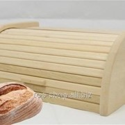Хлібниця дерев'яна фото