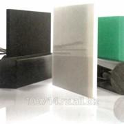 Полиэтилен высокомолекулярный Цестилен HD 1000 R чёрный / зелёный PE-UHMW фото