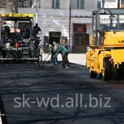 Дорожные работы, Красный Холм фото