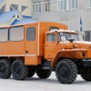 Вахтовые автобусы «Урал» фото