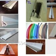 Профили и вставки для установки натяжных потолков фото