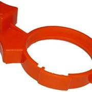 Пластиковый оранжевый регулятор фото