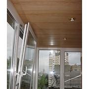 Обшивка балконов пластик 250мм фото