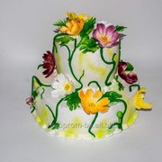 Торт Праздничный 3 фото