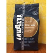 Lavazza Crema e Aroma 1 кг(синий). Натуральный Итальянский кофе в зернах фото