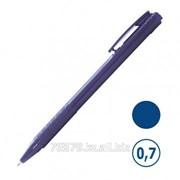 Ручка шариковая Sponsor, синяя, толщина линии 0,7 мм фото