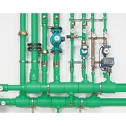 Монтаж систем трубопровода фото