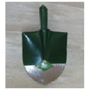 Лопата штыковая, совковая, ледорубная металлическая фото