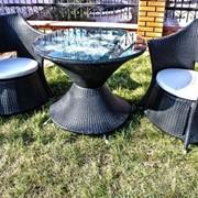 Комплект мебели из искусственного ротанга А010 фото