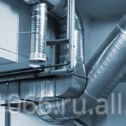 Профессиональный монтаж системы вентиляции фото