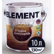Декоративний антисептик для деревини ELEMENT Aqua Antiseptik. фото