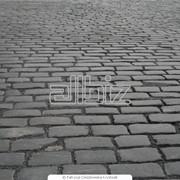 Укладка тротуарной плитки брусчатки фото