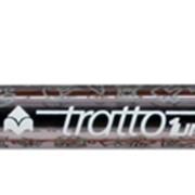 Ручка шариковая TRATTO Grip, поворотный механизм, 1,0 мм, черная (FILA) фото