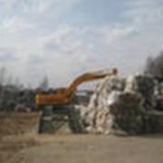 Утилизация вторичного сырья. фото
