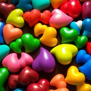 Гипсовое сердце фото