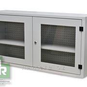 Шкаф инструментальный настенный. RAL 7035 фото
