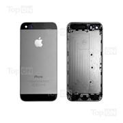 Задняя панель для смартфона Apple iPhone 5S black фото
