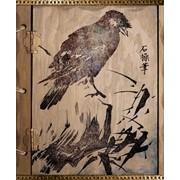 Тетрадь 48 л Japanese birds, кл, ф. А5, тиснение, (Тетрапром) фото