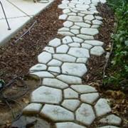Многоразовая форма «Моя Дорожка». Приспособление для садовых дорожек. фото
