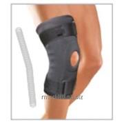Ортопедический фиксатор ортез на колено с подушечкой на колено и спиральными ребрами жесткости из материала Air-X 6730 Genucare AirX ligament фото