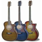 Акустическая гитара MAXTONE WGC400 (TOB) фото