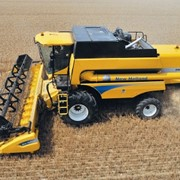 Уборка урожая быстро недорого комбайном New holand 7080 фото