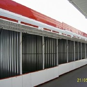 Сборка и установка торговых павильонов фото