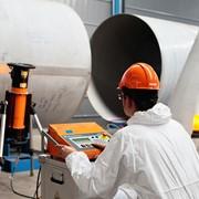 Испытания и измерения трубопровода фото