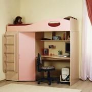Кровать двухъярусная детская фото