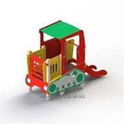 Трактор с горкой 004432 фото