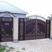 Ворота для загородного дома №50 фото