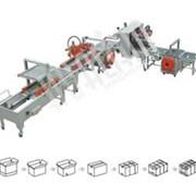 Автоматическая линии заклейки и обвязки коробов XFK-7 фото