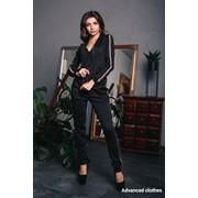 Женский спортивный костюм 3-ка: штаны, топ и мастерка в моделях. ДС-2-1118 фото