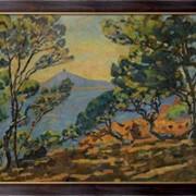 Картина Залив Агай и Семафор, 1922, Гийомен, Арманд фото