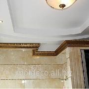 Интерьерный багет для потолков фото