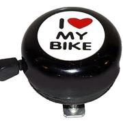 Звонок I love my bike фото